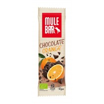 Barre Mulebar bio / vegan Chocolat Orange 40g (boite de 15 barres)