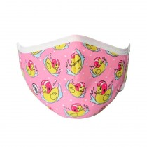 Masque DUKE rose - enfant