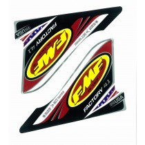 FMF FCTRY 4.1 U.S.A. 2-PART WRAP LOGO DECAL REPLACEMENT