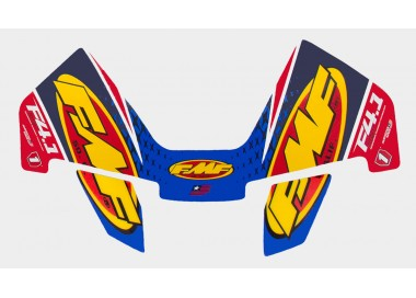 FMF CRF DUAL CAN WRAP LOGO DECAL REPLACEMENT