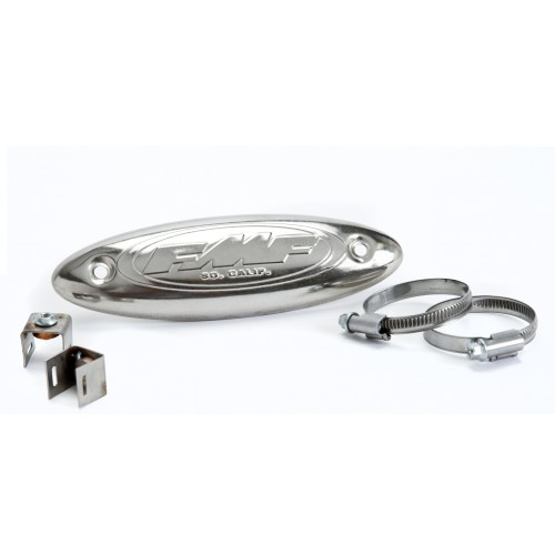FMF STAINLESS HDR HEAT SHIELD (UNIVERSAL)