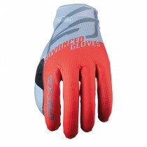 Gants XR-LITE KIDS - SPLIT FLUO RED/GREY (rouge fluo/gris) - L/05
