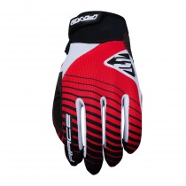 Gants RACE - RED (noir/rouge)