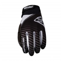Gants RACE - BLACK WHITE (noir/blanc)
