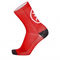 Chaussettes SMILE - rouge