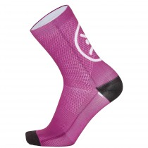 Chaussettes SMILE - rose