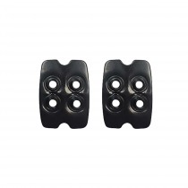 Cleat nut plate SPD pair