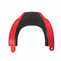 Back Brace upper LEATT DBX 5.5 S/M/L/XL Red (no graphics)