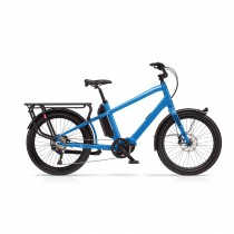 Boost E - Bosch CX 500Wh - Machine Blue (bleu)