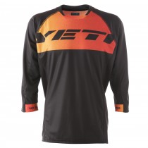 Maillot ENDURO - black/tang/inferno
