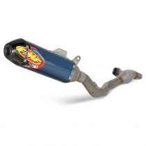 SUZ RMZ250'19-20 ANO FACT-4.1 RCT W/R.CRBN CAP COMPLETE EXHAUST SYSTM W/TI MGBMB HDR