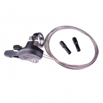Kit: Remote Assembly, 2022 Suspension Remote, 2-POS, Dual Cable, Includes: 22.2 Clamp, MM, I-Spec