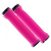 Grips LOVEHANDLE avec colliers - rose fluo